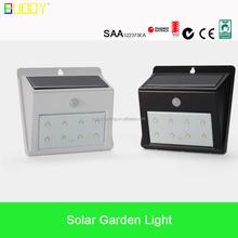 Human body infrared sensor 12V Small Solar Security led solar garden light