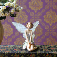Angel Resin Home Table Ornament Statue Figurine Gift