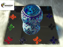 Mozaik Lamp Elmas Vitray Chip
