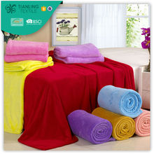 100% Polyester Polar Fleece Blanket Factory Direct Sale
