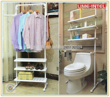 New products portable bathroom or living room clothes drying rack