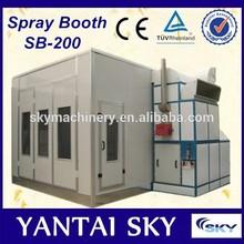Proveedor de China SB-200 de estación asperasora / cabina de pintura de automóviles / habitación de pintura completa
