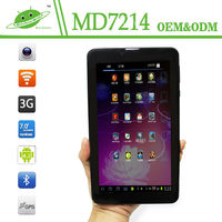 IPS 7inch 1024*600 RAM 1G ROM 16G dual camera MTK8312 wifi bluetooth GPS 3G Android 4.4 dual core tablet