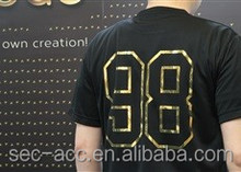 A4 size customized design logo sport dry fit T-shirt