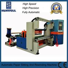 Advanced Best Sale High Speed Automatic Paper Slitting Rewinding Machine