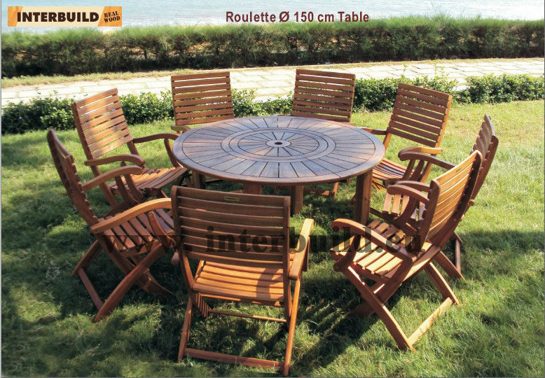 High Quality Casino Set Garden Furniture Buy Wood Outdoor Dining Set Folding Outdoor Dining
