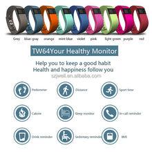 silicone waterproof bluetooth cicret smart bracelet health sleep monitoring smart bracelet heart rate of sport online shopping