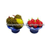 Mini Thai Fruit Ceramic Pottery Tray Decor