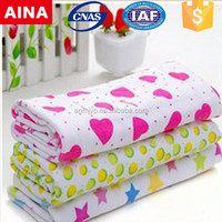 China Top 10 Towels' supplier high quality bamboo sublimation white bathroom towel