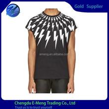 New Trendy Design Special Design Round Neck men Sports Running Jersey