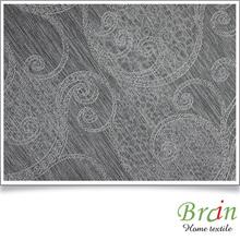 Wholesale poly jacquard curtain fabric samples