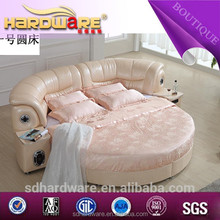 made in china alibaba bedroom modern oval round bed in india