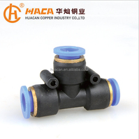 Plastic Quick Tee Connect Pipe Fittings,Quick Connector,quick coupling