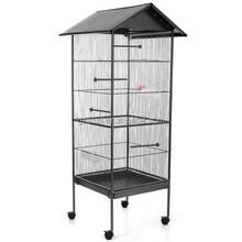 House Shaped Wrought Iron Large Chinese Bird Cage