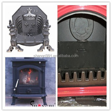 wood-burning stoves and fireplaces