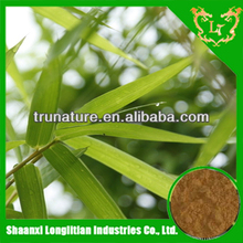 Popular Stuff ! powdered bamboo leaf extract easy absorb by ISO longlitian manufacturer with factory price and good service