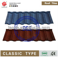Stone Coated Aluminum Roofing|Colorful Sand Coated Metal Roofing Shingle|Stone Coated Steel Roofing