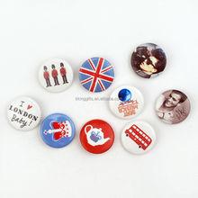 Printing funny gifts eco-friendly custom metal cap car badge pin