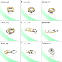 Starland guangzhou Micro Pave Setting Silver Ring Jewelry co.ltd