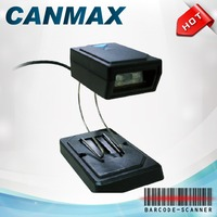 CANMAX Omni 2D supermarket Barcode reader Fixed mount Scanner for RS232