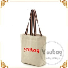 Promotional Blank Natural Cotton Tote Bags /Black Cotton Bag