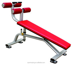 commercial gy machines/adjustable abdominal fitness bench