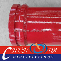 concrete pump induction hardened pipe