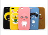 NEW STYLE KAKO FRIENDS 3D CARTOON SILICON PHONE CASE FOR IPHONE5 6 6LUS AND SAMSUNG S6 NOTE4 NOTE3 S5 S4