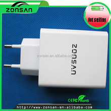 High demand four ports charger for cell phone battery iphone5s original