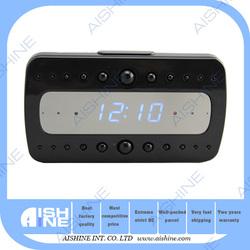 New WIFI HD Alarm clock radio wireless ir night vision camera clock hidden camera