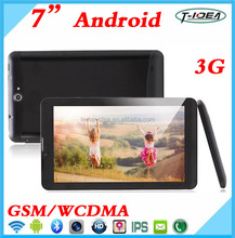 Cheapest Dual Core 7inch DDR 512MB 1024*600 Screen 3G Tablet With FM Bluetooth GPS