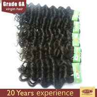 top quality indian remy human hair weave deep wave types brazilian hair