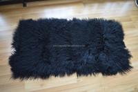 Wholesale Tibet Lamb Plate Long Hair Mongolian Lamb Fur Plate