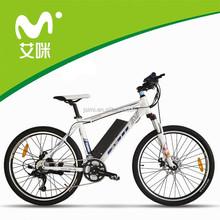 26inch mountain model Aluminium alloy electric mountain bicycle