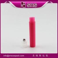 plastic 7ml roll on perfume bottle , chinese supplier cheap perfume roll on bottle for eye cream