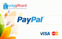 VCC for verify paypal account