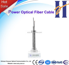 Fiber Optic Cable OPGW G652 G655 24 96 144 Core Power Optical Cable