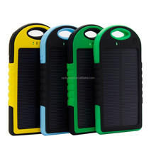 Mobile phone accessories factory in china solar charger battery portable solar power bank for samsung galaxy s4