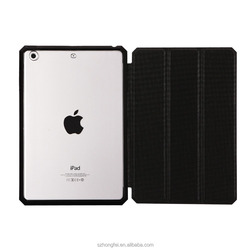 Most popular Customized Protective Back PU Leather Tablet Cover For Apple iPad Mini 2/4 Case