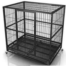 aluminum dog cage kennel pvc coated dog cage 2015 new design dog cage