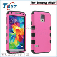 Factory Price Original Cover for Rubberized High Impact Plastic Combo Case For Samsung S5 Galaxy S5