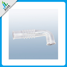 Factory price custom white clear plastic flexible hose for samsung washing machine
