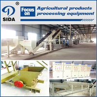 Modern agricultural technology tapioca starch production line |cassava starch equipment for food grade |potato starch production