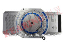 Kearing brand, KNMP-1 Flight Computer for pilot/nautical scale ruler for plotter