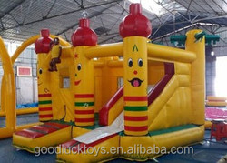 juegos inflables china/ top sell inflatable spider man combo /inflatable castle