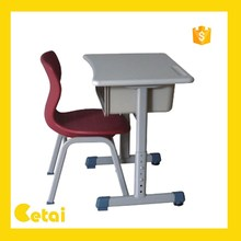 2014 Single school student desk and chair