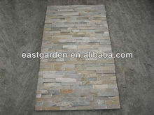 Yellow Wood Grain Mix Colors Cultured Stone