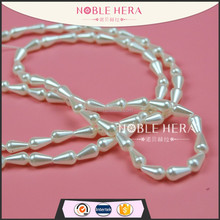 Factory price plastic drop pearl strand for decorating