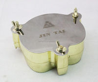 High quality Cu-Zn Alloy Dental Flasks Denture Materials