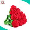 Wholesale kids custom stuffed soft toy plush rose flower